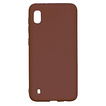 Ultra-Slim Case compatible with Samsung Galaxy A10 | In Brown