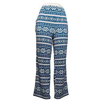 Carole Hochman Women's Petite Marshmallow Jersey Novelty Pajama Blue A381877