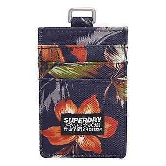Superdry Fabric Card Wallet - Hawaiian AOP