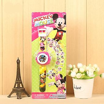 Projection Pattern Digital Child Watches