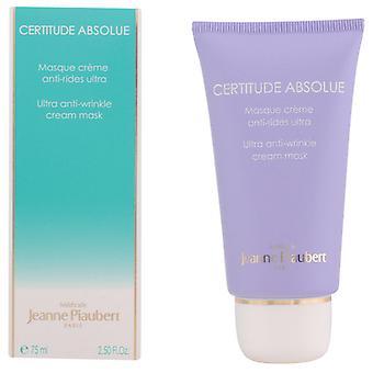 Jeanne Piaubert Certitude Absolue Ultra masque crème anti-rides