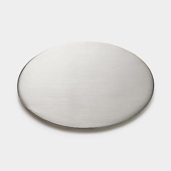 Messing Untersetzer - Silber - Rund