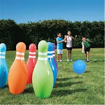 Kids Giant Inflatable Bowling Balls Set, Outdoor Plaything, Beach Grassland