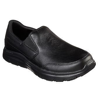 Skechers unisex bronwood breit Slip Trainer schwarz 32950