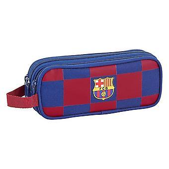 Holdall F.C. Barcelona (21 x 8 x 7 cm) Marineblauw
