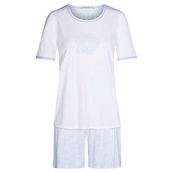 Féraud High Class 3211076-16402 Women's Mono Flowers Motif Cotton Pyjama Set