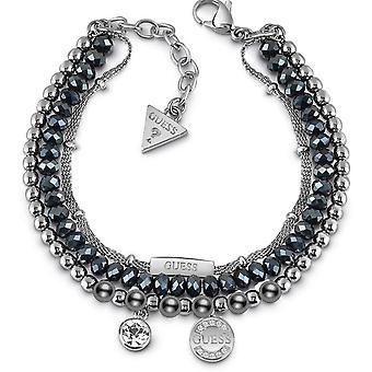 Gissa smycken UBB28035 armband - Multi kanaler logotyp & crystal blå natt kvinna