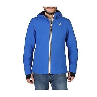 K-Way - Clothing - Jackets - JACK-BONDED-K008J00-A0K - Men - Blue - XXL