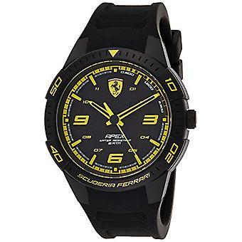 Scuderia Ferrari Analog Klocka Kvarts Man med silikonrem 0830663
