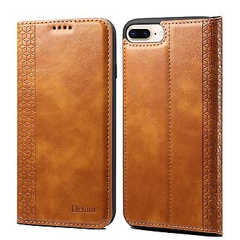 Wallet leather case card slot for huawei p30 brown on385