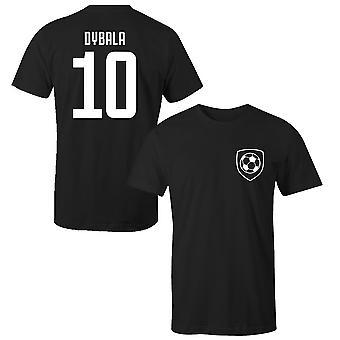 T-shirt giocatore in stile club Paulo dybala 10