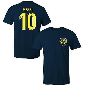 Lionel messi 10 barcelona stijl speler kinderen t-shirt