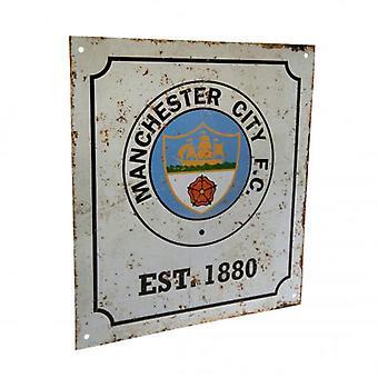 Manchester City FC Retro Logo -merkki