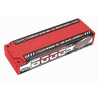 Corally Sport Racing 50C Lipo Batterie 6000mah 7.4V Stick 2S 4Mm Bullit