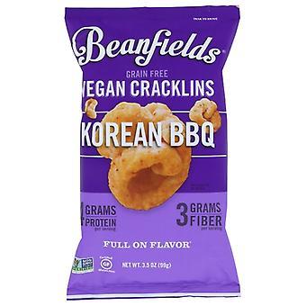 Beanfields Cracklins Barbecue coréen, Boîtier de 6 X 3,5 Oz