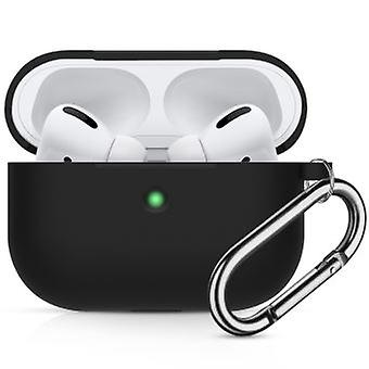 Black Thicken Drop Resistant Silicone Case For Your Apple Airpods Pro