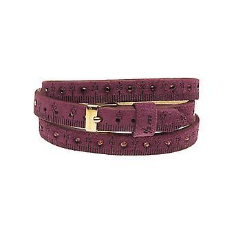 Il mezzometro strass leather bracelet  bms1311_s
