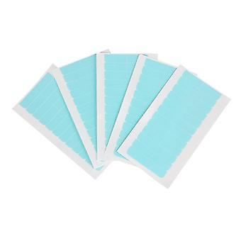 5 vellen 60 stuks haar tape lijm lijm 4cm0.8cm dubbele kant tape waterdicht voor kant pruik