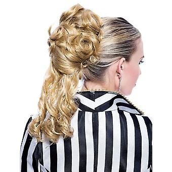 French Kiss Amelie Blonde Ponytail Attachment Women Costume Wig