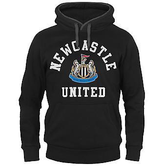 Newcastle United FC Mens Hoody Fleece Gráfico OFICIAL de Fútbol