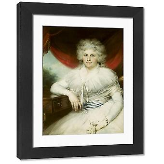 Dorothy Jordan (1762-1816). Large Framed Photo. GUI41647 Dorothy Jordan (1762-1816) by Russell,.
