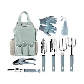 Computer racks mounts 9pcs garden tool set gardening combination set garden tool set with tool bag