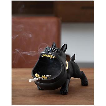 منفضة السجائر الكرتون منفضة السجائر الإبداعية المضادة للرماد الذبابة المنزلية قدرة كبيرة لطيف منفضة سجائر راتنج الحيوان