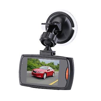 1pcs/2pcs 6 Led Car Dvr Camera 2.3 Inch Lcd Night Vision Camera Recorder