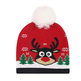 Christmas Hat Christmas Cap  Knitted Hat For Christmas Party Holiday Party