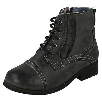 Девочек милашка плоский зашнуровать ботинок
