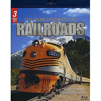 werelds grootste spoorwegen [BLU-RAY] USA import