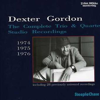 Dexter Gordon - Dexter Gordon: Complete Trio & Quartet Studio [CD] USA import
