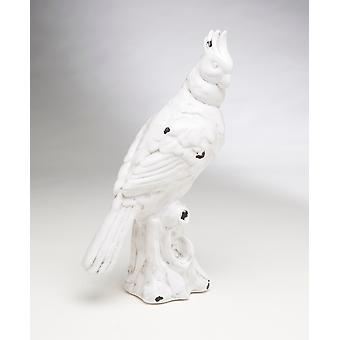 AA Importing 59855-WH 13.5 Inch White Bird