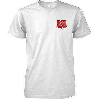 KGB - Russisch koude oorlog spionagentschap - beveiliging Sovjet-Unie - Kids borst Design T-Shirt