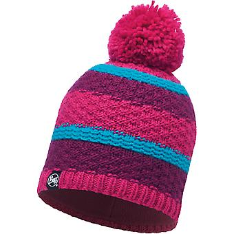 Buff Fizz Bobble Hat in Pink Honeysuckle