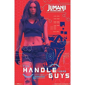 Jumanji - Ruby Poster Print