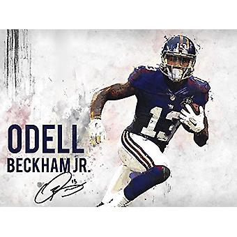 Odell Beckham Jr Poster New York Giants Art Print (24x18)