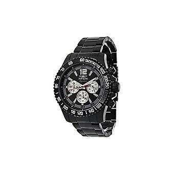 Invicta Signature II Divers Chronograph Black Ion-plated Stainless Steel Mens Watch 7413