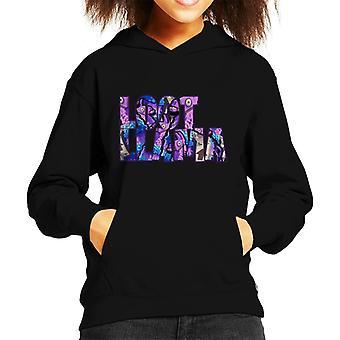 Fortnite Loot Llama tekst uitgesneden Kid's Hooded Sweatshirt