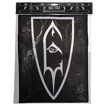 Keizer Back Patch Shield symbool officiële nieuwe zwarte katoenen naai 36 cm x 29 cm
