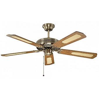 Laiton Antique classique de ventilateur de plafond 132cm/52