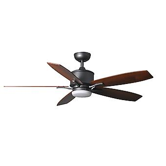 Ceiling Fan Prima Iron with LED and Remote Control