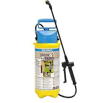 Gloria Haus und Garten 000101,0000 Spray & Farba 5L Tlakový postrekovač čerpadla 5 l