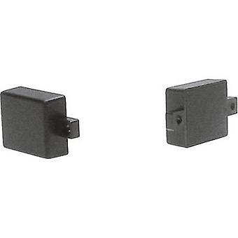 Strapubox MG 23-0SW MG 23-0SW Modulärt hölje 28 x 23 x 10 Akryllonitril butadynstyren Svart 1 st(er)
