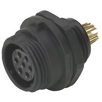 Weipu SP1312/S 4 Bullet connector socket, ingebouwde serie (connectors): SP13 totaal aantal pinnen: 4 1 PC (S)