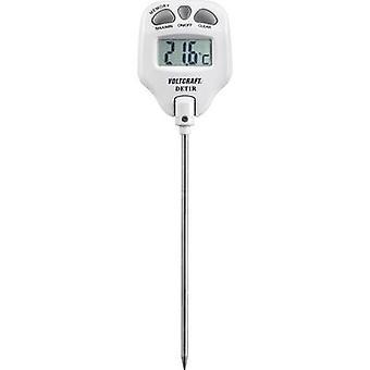 VOLTCRAFT DET1R Sondenthermometer Temperaturmessbereich -10 bis 200 °C Sensor Typ K