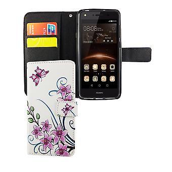 Matkapuhelin kansi tapauksessa mobile Huawei Y5 II / 2 Lootuksenkukka