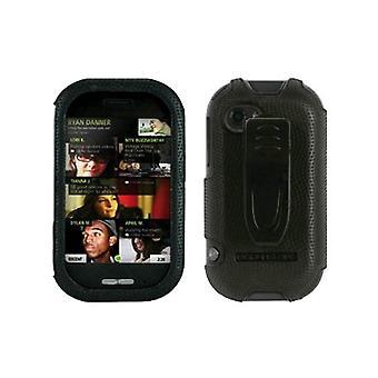 Body Glove - Snap-On avec étui avec Clip ceinture pour Sharp Kin 2 - Black