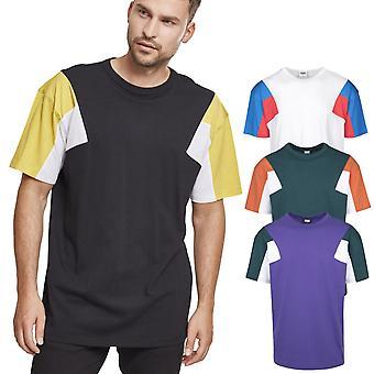 Stedelijke klassiekers - 3-TONE boxy vorm T-Shirt