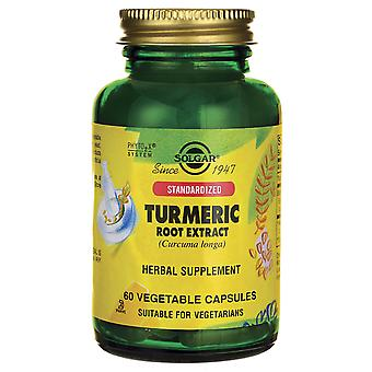 Solgar Standardized Turmeric Root Extract Vegetable Capsules 60 Ct